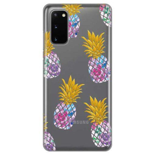 ovitek pineapple za samsung galaxy s20