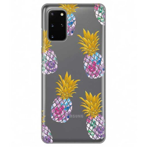 ovitek pineapple za samsung galaxy s20 plus