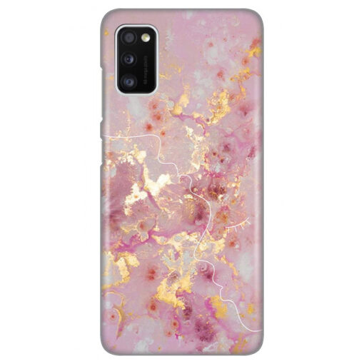 ovitek pink marble faces za samsung galaxy a41