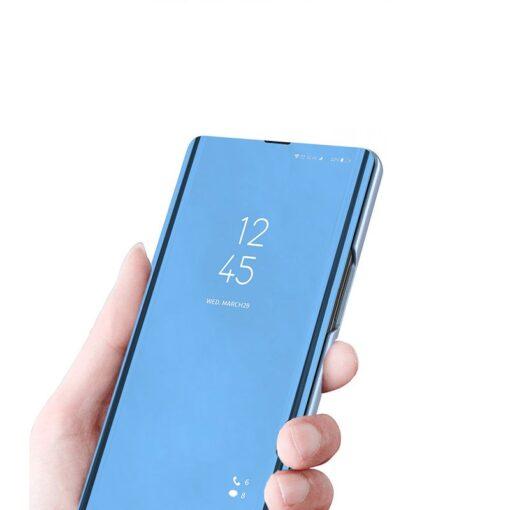 preklopni etui Clear View za Samsung Galaxy A51 5G Galaxy A31 crna 1