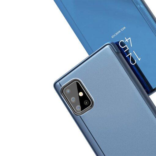 preklopni etui Clear View za Samsung Galaxy A51 5G Galaxy A31 crna 2