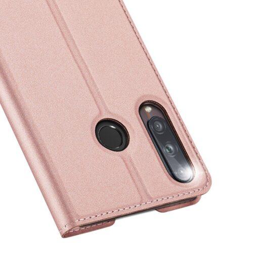 preklopni etui DUX DUCIS Skin Pro za Huawei P40 Lite E roza 2