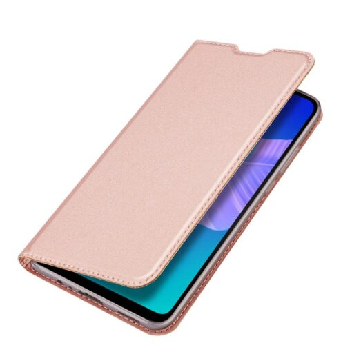 preklopni etui DUX DUCIS Skin Pro za Huawei P40 Lite E roza 4