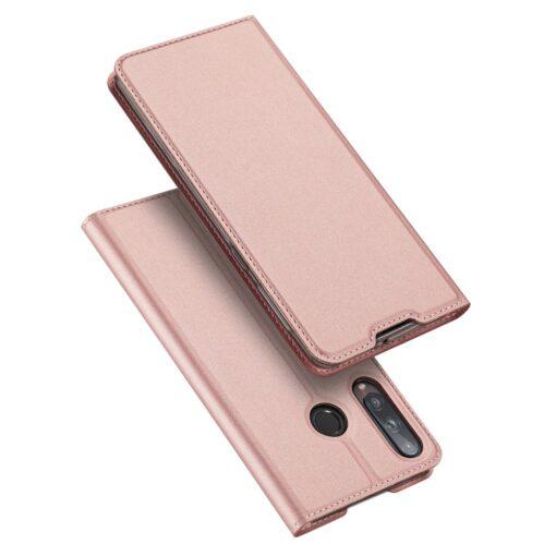 preklopni etui DUX DUCIS Skin Pro za Huawei P40 Lite E roza