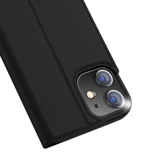 preklopni etui DUX DUCIS Skin Pro za iPhone 12 crna 2