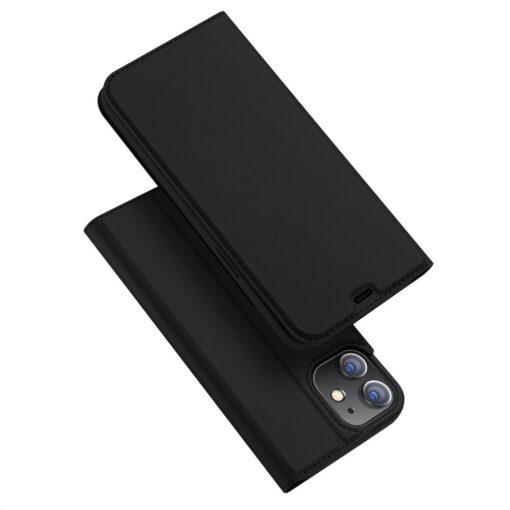 preklopni etui DUX DUCIS Skin Pro za iPhone 12 crna