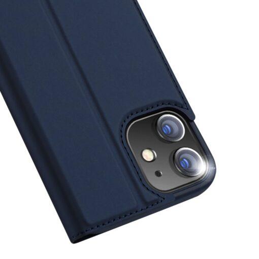 preklopni etui DUX DUCIS Skin Pro za iPhone 12 pro 12 max modra 5