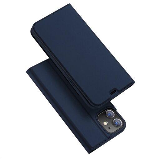 preklopni etui DUX DUCIS Skin Pro za iPhone 12 pro 12 max modra 7