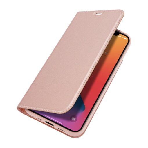 preklopni etui DUX DUCIS Skin Pro za iPhone 12 roza 3