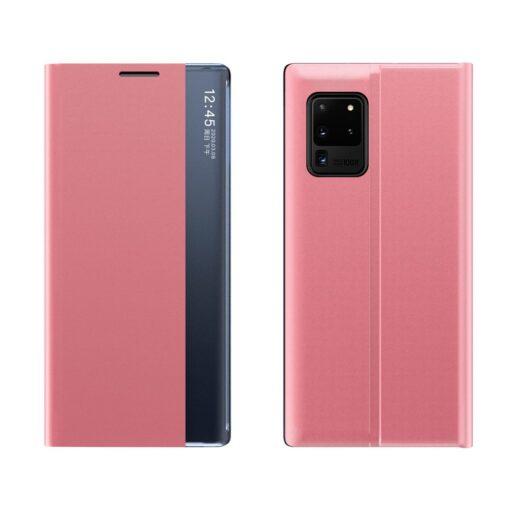 preklopni etui Sleep Case za Samsung Galaxy Note 20 roza