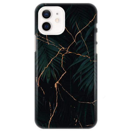 silikonski ovitek za iphone 12 black marble