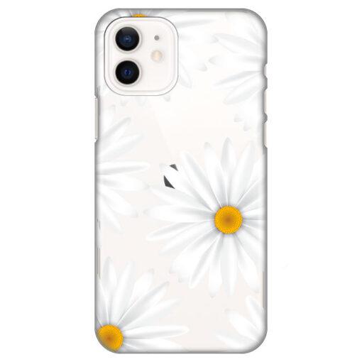 silikonski ovitek za iphone 12 daisies