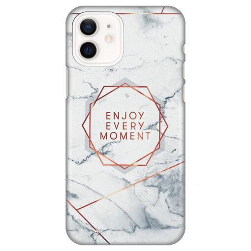 silikonski ovitek za iphone 12 enjoy every moment