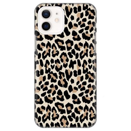 silikonski ovitek za iphone 12 leopard