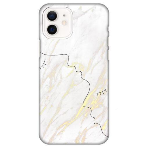 silikonski ovitek za iphone 12 marble faces
