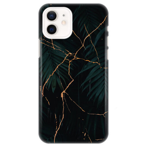 silikonski ovitek za iphone 12 mini black marble