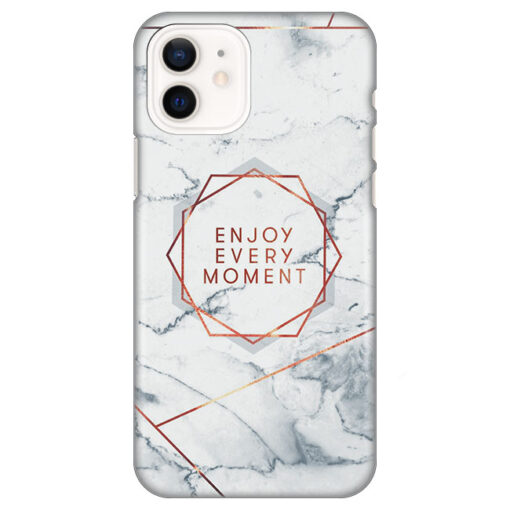 silikonski ovitek za iphone 12 mini enjoy every moment