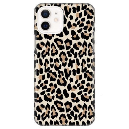 silikonski ovitek za iphone 12 mini leopard