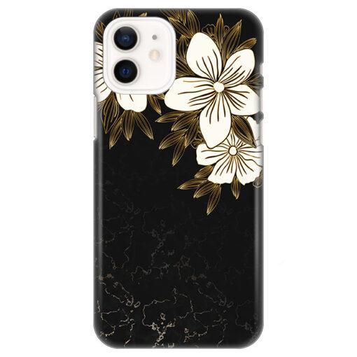 silikonski ovitek za iphone 12 mini spring flowers