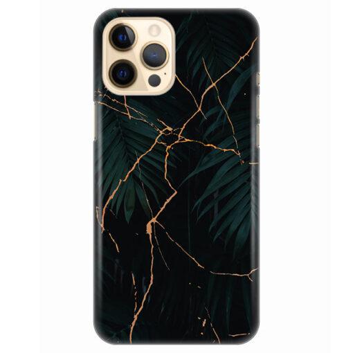 silikonski ovitek za iphone 12 pro black marble