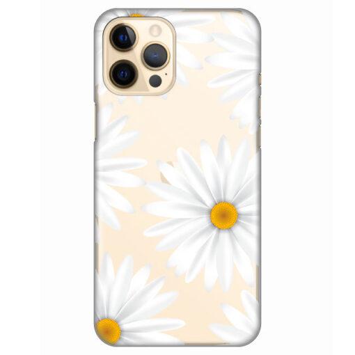 silikonski ovitek za iphone 12 pro daisies