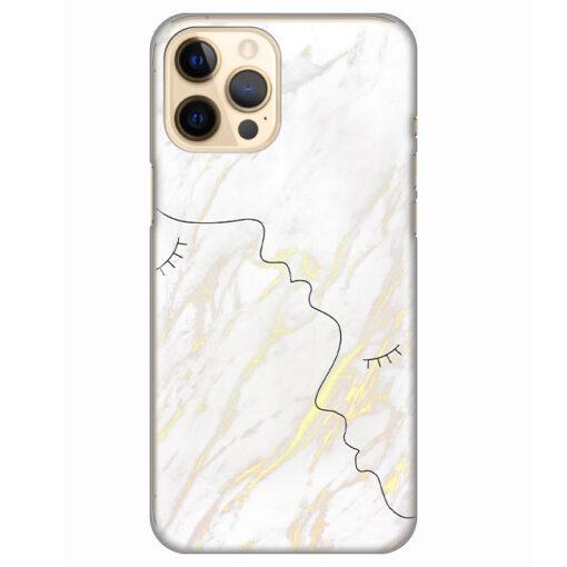 silikonski ovitek za iphone 12 pro max marble faces