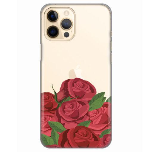 silikonski ovitek za iphone 12 pro max roses