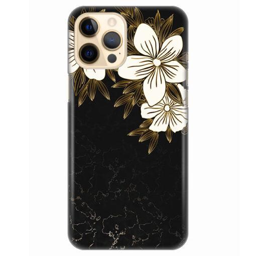 silikonski ovitek za iphone 12 pro max spring flowers