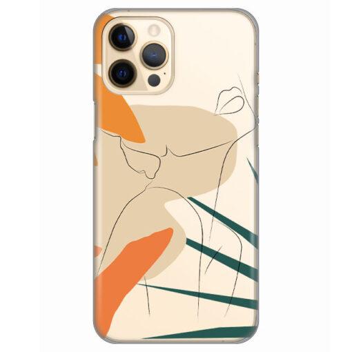 silikonski ovitek za iphone 12 pro max woman art