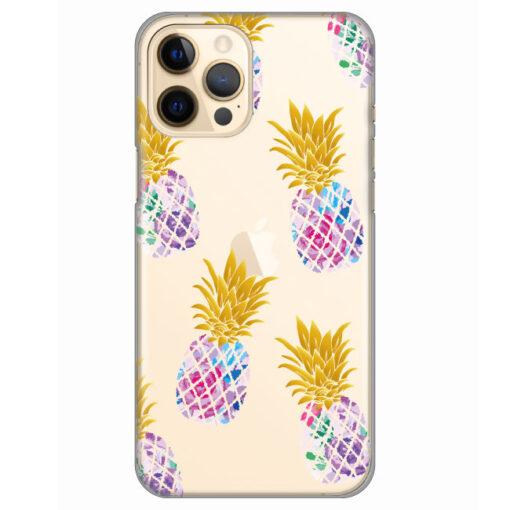 silikonski ovitek za iphone 12 pro pineapples