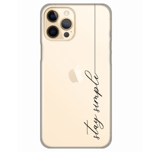 silikonski ovitek za iphone 12 pro stay simple