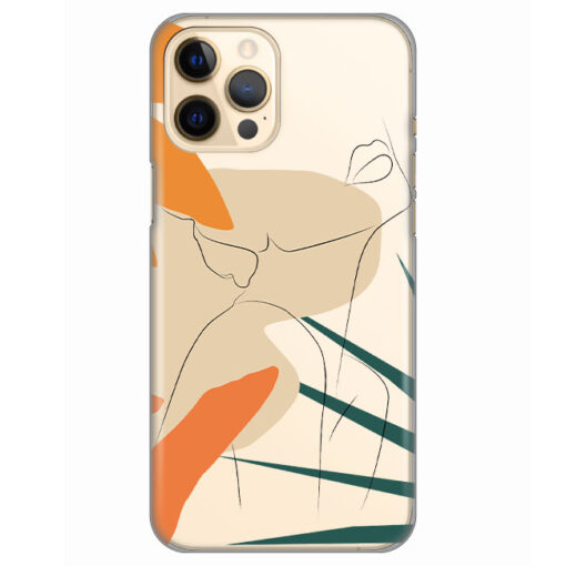 silikonski ovitek za iphone 12 pro woman art
