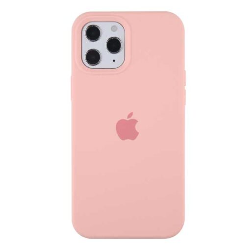 apple silikonski ovitek za iphone 12 12pro roza