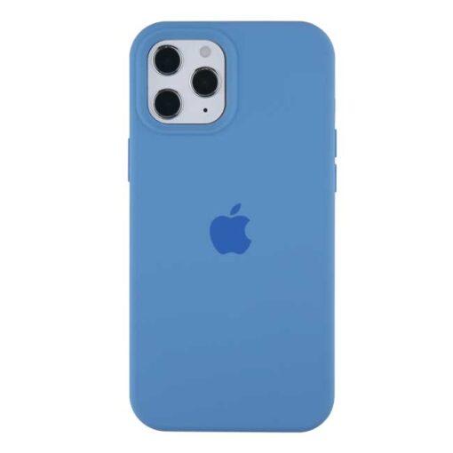apple silikonski ovitek za iphone 12 12pro temno modra