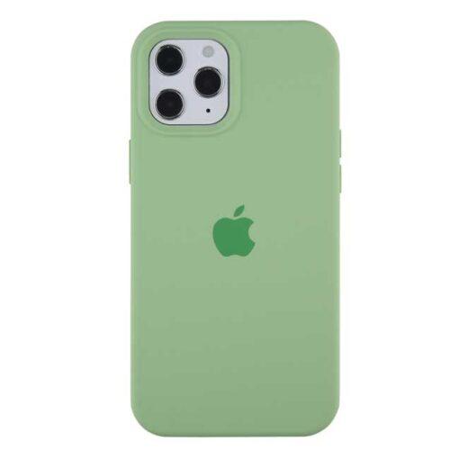 apple silikonski ovitek za iphone 12 mini zelena