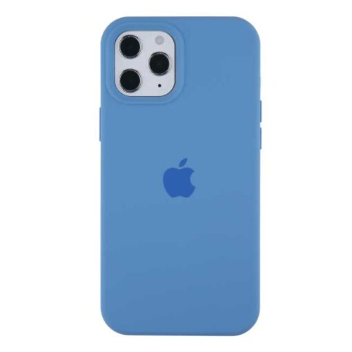 apple silikonski ovitek za iphone 12pro max temno modra