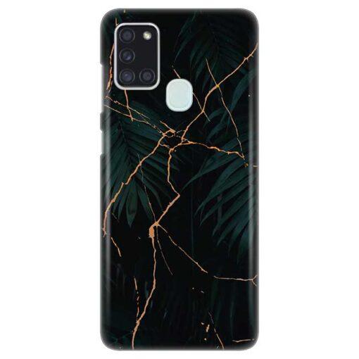 ovitek black marble za samsung galaxy a21s