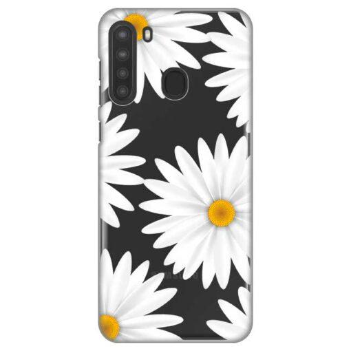 ovitek daisies za samsung galaxy a21