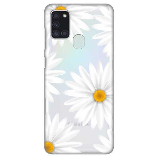 ovitek daisies za samsung galaxy a21s