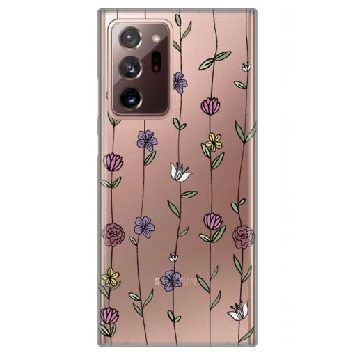 ovitek flowers za samsung galaxy note 20 ultra