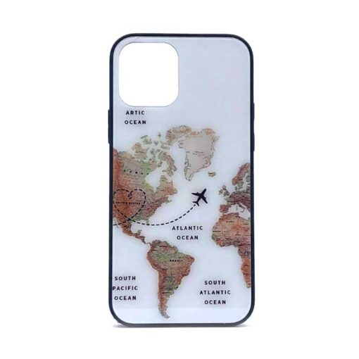 ovitek glass za iphone 12 12pro max the map