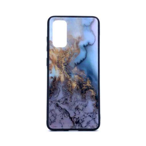 ovitek glass za samsung galaxy s 20 blue marble 1
