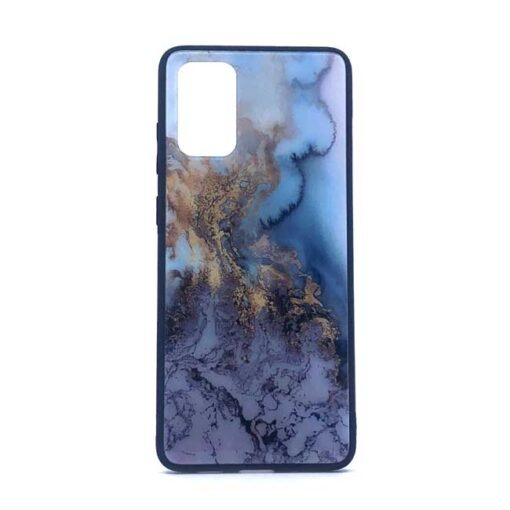 ovitek glass za samsung galaxy s 20 blue marble
