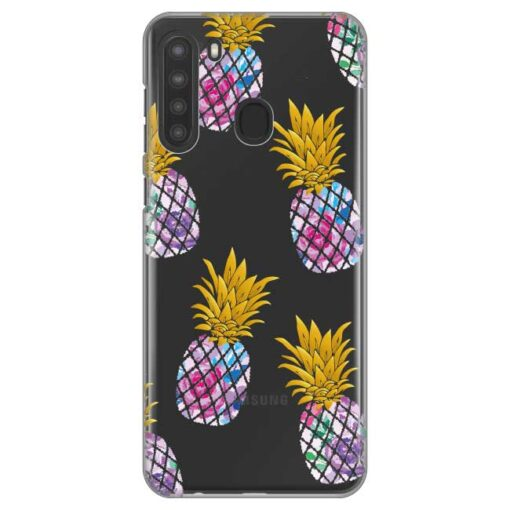 ovitek pineapple za samsung galaxy a21