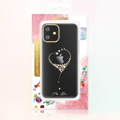 ovitek Kingxbar original swarovski kristali za iPhone 12