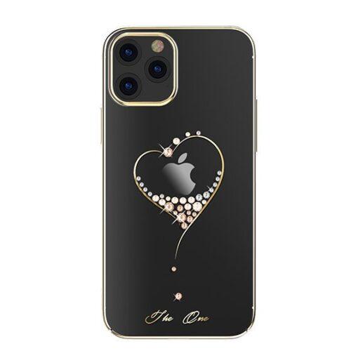 ovitek Kingxbar original swarovski kristali za iPhone 12 pro max zlata