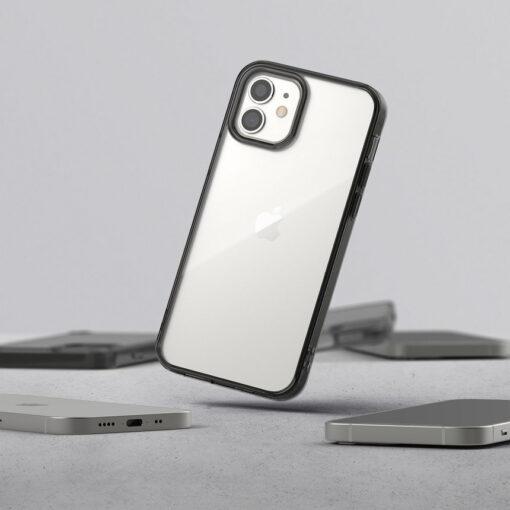 ovitek Ringke Fusion za iPhone 12 mini transparent 2