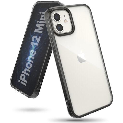 ovitek Ringke Fusion za iPhone 12 mini transparent