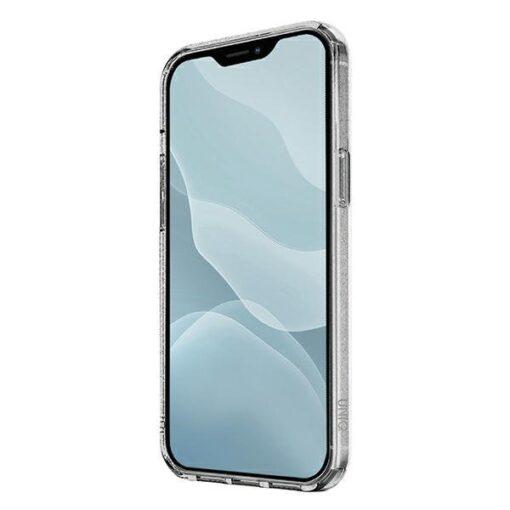 ovitek UNIQ z blescicami za iPhone 12 mini transparent 2