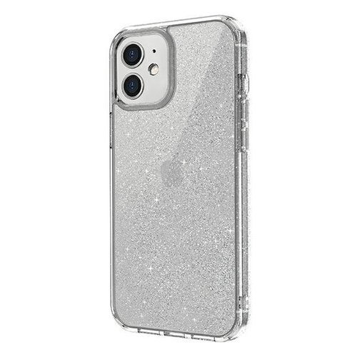 ovitek UNIQ z blescicami za iPhone 12 transparent 1